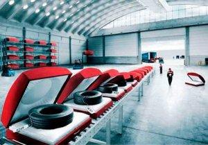 Как нужно правильно складировать автомобильные диски?