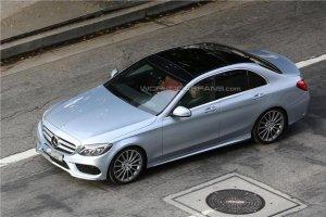 Была рассекречена внешность нового седана Mercedes-Benz C-Class