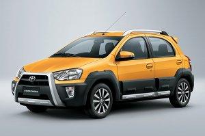 Etios Cross - самый дешевый кроссовер Toyota