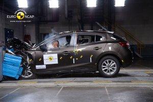 Mazda 3 получила «пятерку» от Euro NCAP