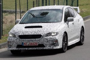 Первые фото Subaru WRX STI