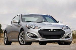 Разработка Хендай Генезис купе велась на платформе классической Hyundai Gen ...