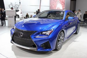 Японцы показали усиленное купе Lexus RC F