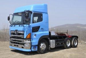 Компания Hino готовит к продаже обновленный грузовик Profia