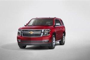В 2015 году в России появится обновленный внедорожник Chevrolet Tahoe