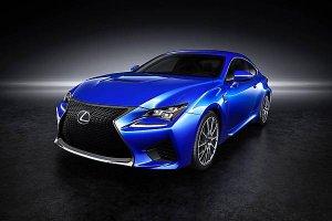 Lexus RC получил четыре слоя краски