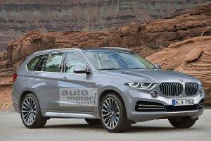 Компания BMW выпустит большой внедорожник X7