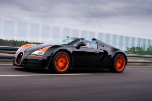 Очередная модификация автомобиля Bugatti Veyron Grand Sport Vitesse – Black ...