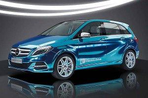 Компания Mercedes-Benz начала выпускать электрический B-Class