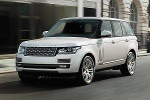 В России начали продавать удлиненную версию автомобиля Range Rover L
