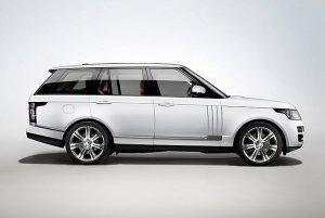 Появилась гибридная версия автомобиля Range Rover L