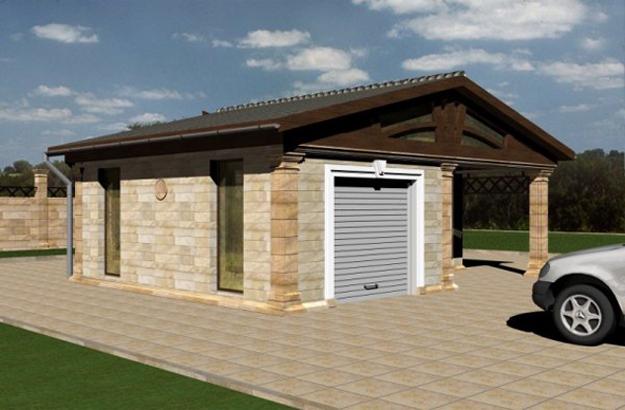 о строительстве гаража.