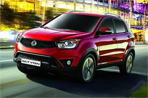 SsangYong показал в Пекине новый автомобиль Actyon