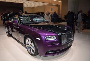 Компания Rolls-Royce представила особую версию Celestial Phantom