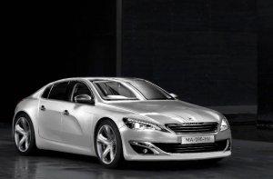 В сети появились первые фотографии обновленного Peugeot 508