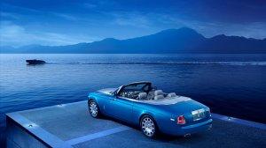Rolls-Royce Phantom Waterspeed покрыт девятью слоями эксклюзивной краски