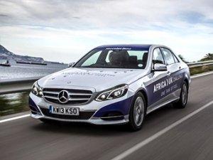 Mercedes-Benz E-Class 300 BlueTEC Hybrid проехал 1968 километров на одном б ...