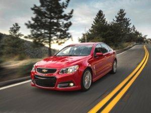 Заряженный Chevrolet SS теперь доступен с механикой
