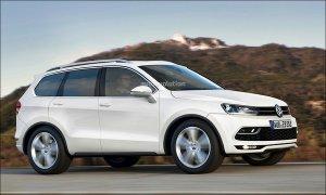 Компания Volkswagen собирается выпускать семиместный Tiguan