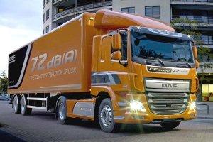 Компания DAF готовится к премьере грузовиков малой шумности