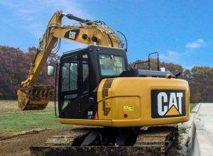 Caterpillar показал обновленный экскаватор Cat 311F L RR