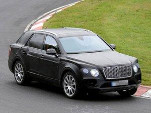 Рассекречена внешность внедорожника Bentley