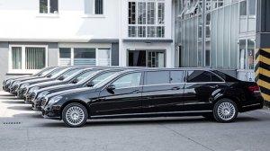Mercedes-Benz E-Class увеличился в длину
