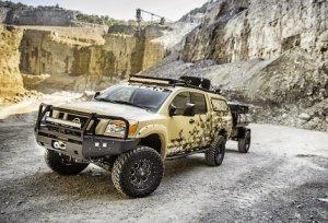 Nissan построил особую версию пикапа Titan