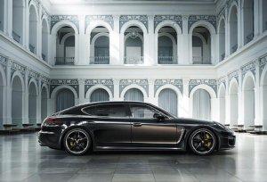 Представлена самая роскошная версия Porsche Panamera Exclusive Series