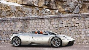 В Китае появилась подделка автомобиля Pagani Huayra Roadster