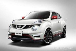 На рынок выходит автомобиль Nissan Juke Nismo RS