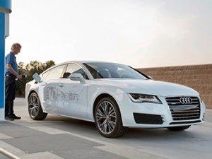 Появилась водородная модификация автомобиля Audi A7 – h-tron