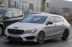 Mercedes готовит универсал CLA