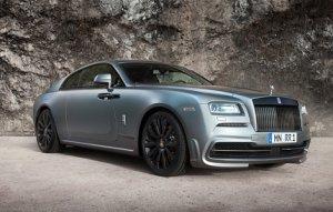 Rolls-Royce Wraith получил усиленный мотор от тюнеров из ателье Spofec