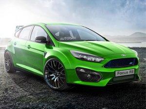 Автомобиль Ford Focus RS появится в линейке моделей