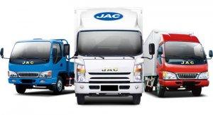 JAC собирается выпустить электрический грузовик