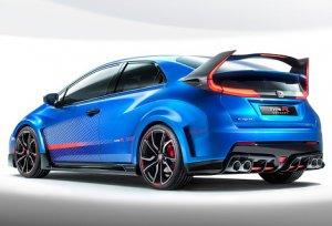 Honda Civic Type R будет представлен в марте