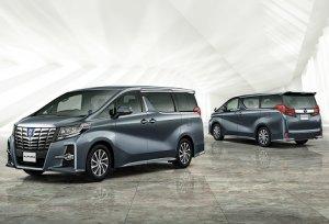 Прошло плановое обновление модели Toyota Alphard