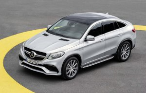 Mercedes-AMG GLE 63 Coupe получит возможность установки инновационной стере ...
