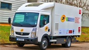 На тесты вышел гибридный грузовик от Renault Trucks