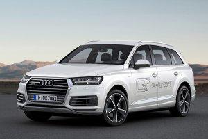Гибридный внедорожник Audi Q7 получит огромный запас хода