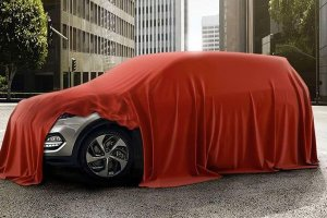 За несколько дней до дебюта компания показала новый кроссовер Hyundai Tucso ...