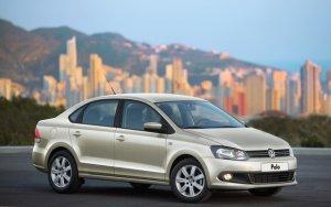 Рестайлинговый VW Polo попался шпионам