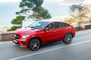 Названа цена автомобиля Mercedes-Benz GLE Coupe