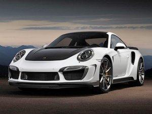 Porsche 911 обзавелся золотым интерьером