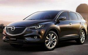 На фотографиях появился автомобиль Mazda CX-9 будущего поколения