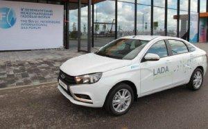 Показана версия Lada Vesta с ГБО