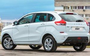 Объявлены цены на хэтчбек Lada XRay