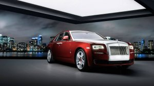 Создан автомобиль Rolls-Royce Ghost Red Diamond
