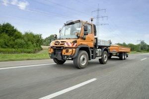 В продажу поступает новый грузовой автомобиль Unimog U323
